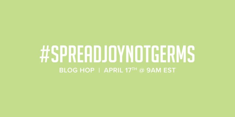 Spread Joy Not Germs Blog Header